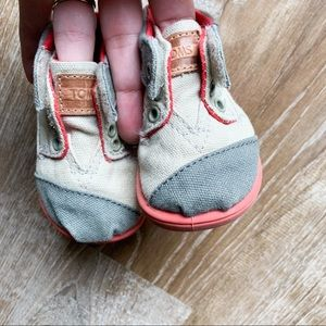 Toms Toddler Canvas Sneakers